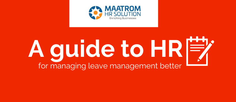 Guide to HR for Managing leave management